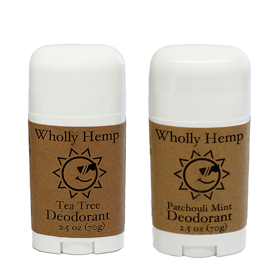 Wholly Hemp natural Deodorant