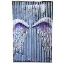 Global Angel Wings print - First in LA - Colette Miller