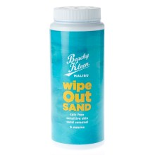 cleansing powder wipe out sand from beachy kleen