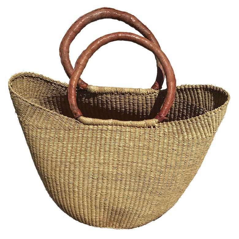 woven handbag by Baobob Collectives