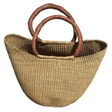 woven handbag by Baobob Collectives