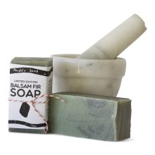 balsam fir soap by The People's Soap Co.