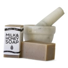 milk & honey soap by The People's Soap Co.