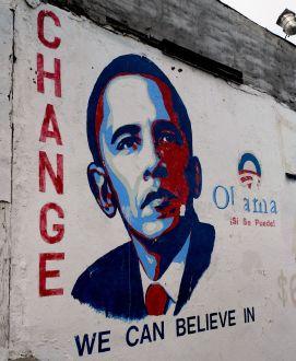 Street art on Lincoln