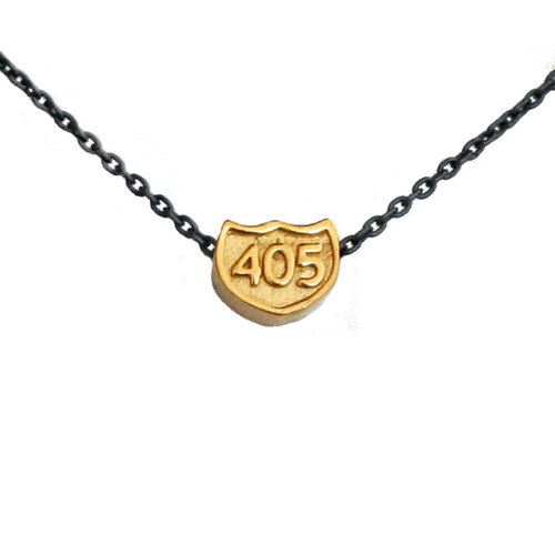 L. Makai 405 freeway necklace