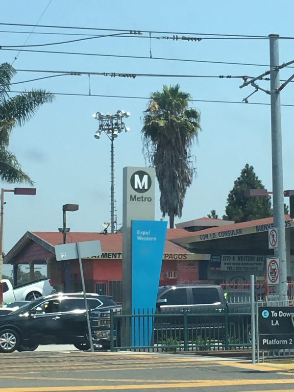 Metro Expo Line at Western