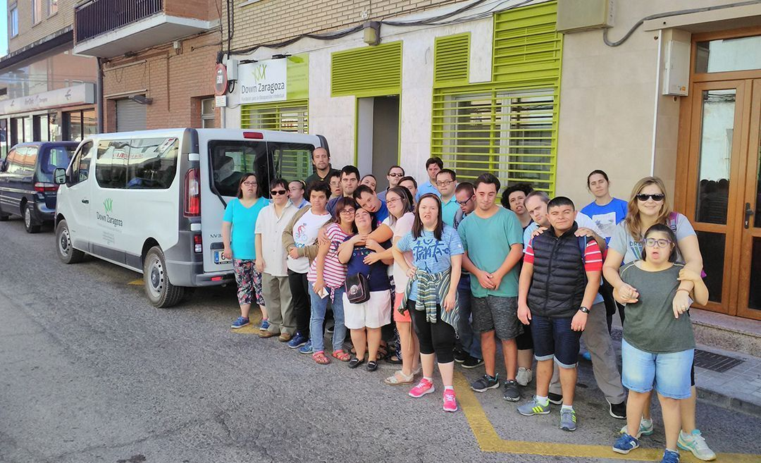 Fundación Down Zaragoza tiene un nuevo local
