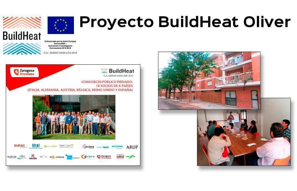 El Proyecto BuildHeat llega a Oliver