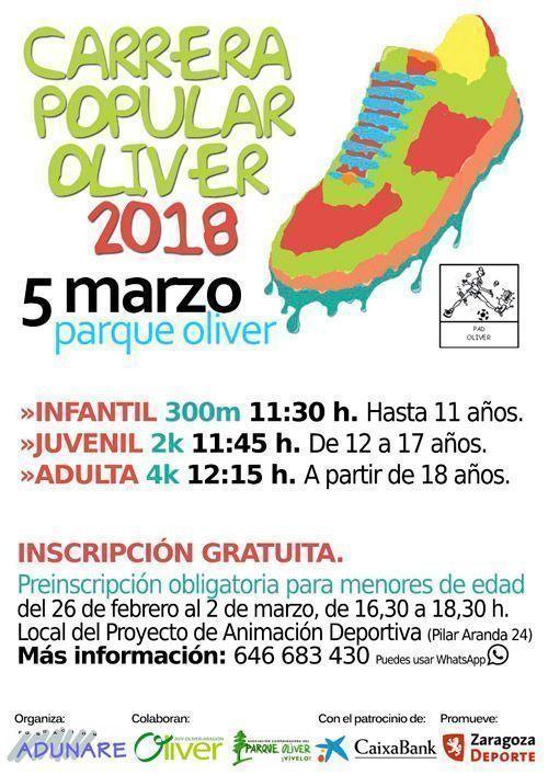 Carrera Popular Oliver 2018