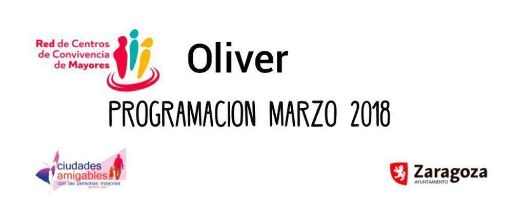 Actividades de Marzo en el Centro de Convivencia de Mayores Oliver