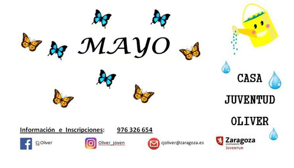 Casa de Juventud Oliver: Actividades de Mayo
