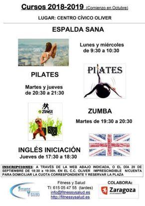 Actividades Asociación Fitness y Salud