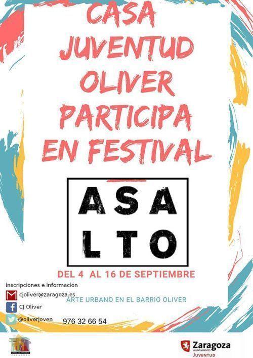Casa de Juventud Oliver: Actividades septiembre 2018