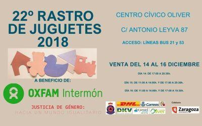El Rastro de Juguetes 2018 ya está en el Cívico