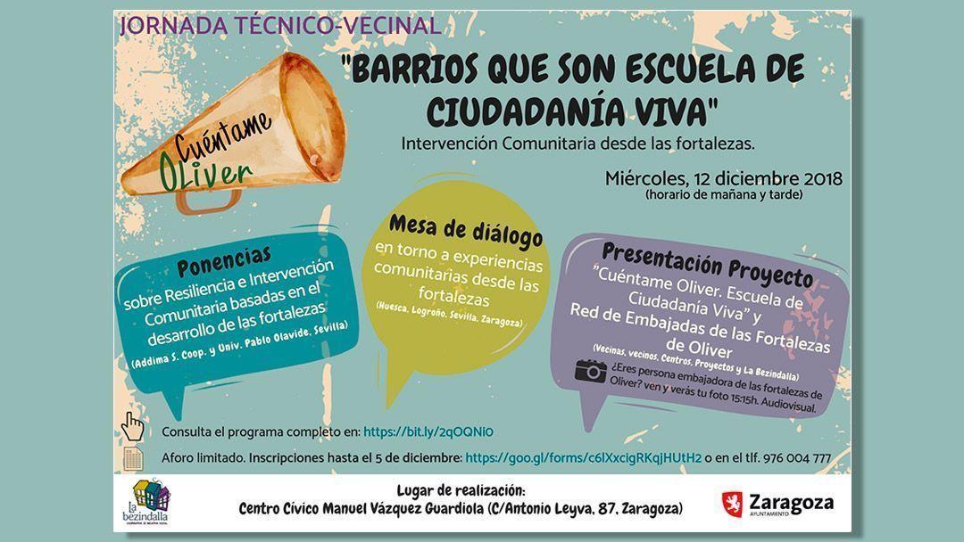 Jornadas «Barrios que son escuela de ciudadanía viva»