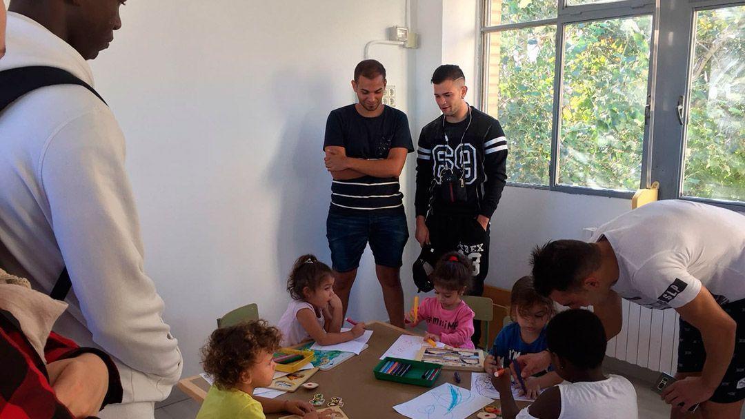 """Conocemos el proyecto """"Vive tu escuela, atrévete a cambiar"""" en el Ramiro Solans"""