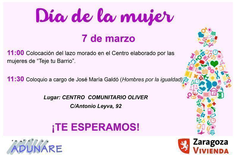 Dia de la Mujer en Oliver 08-03-2019