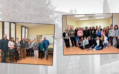 Grupo de cuidadores y charla sobre atención a la Dependencia en el CMSS Oliver