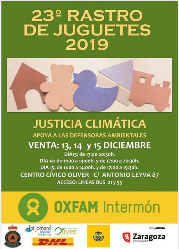 23 Rastro de Juguetes 2019 Centro Cívico Oliver Actividades de Diciembre 2019