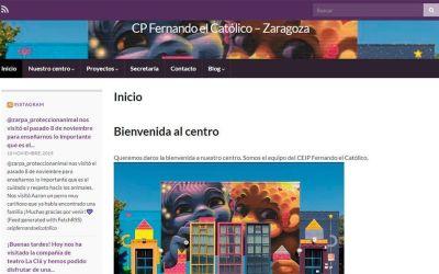 CEIP Fernando el Católico en redes: diciembre 2019