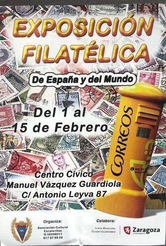 Actividades para febrero 2020: Exposición Filatélica