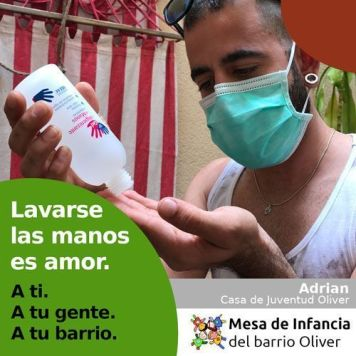 """Campaña """"ES Amor"""" Mesa de Infancia Oliver"""