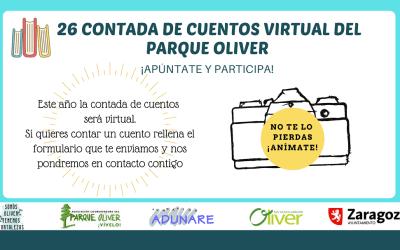 XXVI Contada de Cuentos Virtual de Oliver