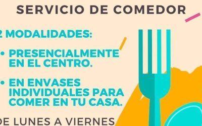 Centro Comunitario Oliver: Servicio de Comedor y actividades Enero 2021