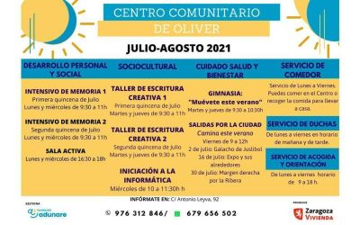 Centro Comunitario Oliver – Junio 2021