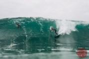 Photographe : Bastien Bonnarme - Surfeur : Justine Dupont
