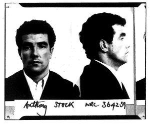 Tony Stock's police mugshot