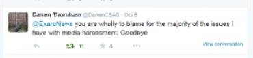Exaro wholly to blame Darren