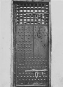 York Prison Cell Door