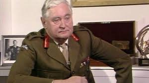 Lord Bramall in happier times