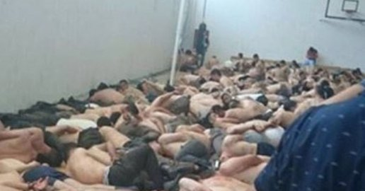 Humiliated allegedly pro-coup soldiers stripped of their uniforms