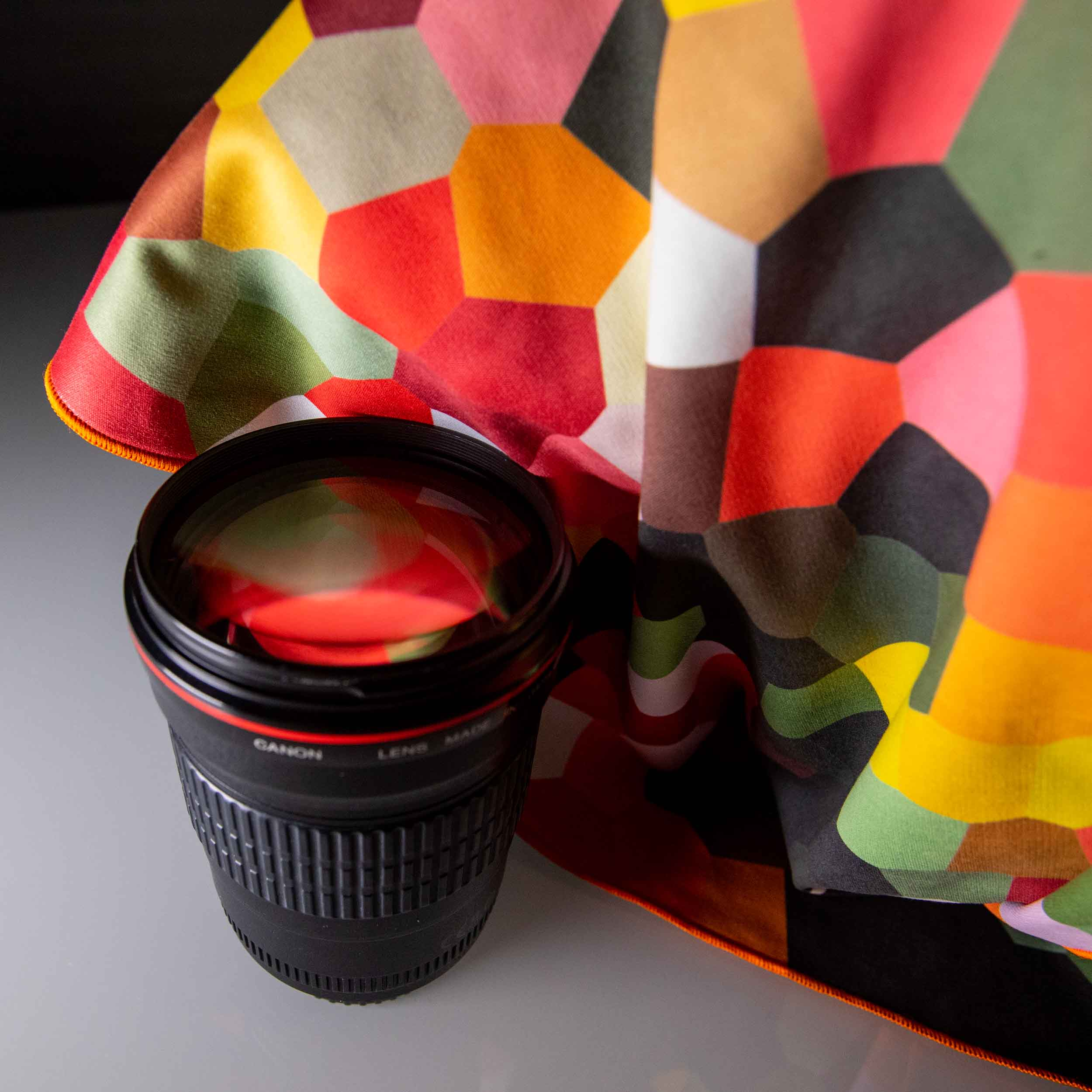 cleaning cloth for your camera lens