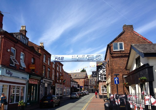 Middlewich town centre