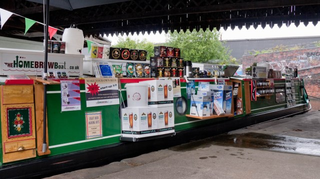 The Home Brew Boat at The Birmingham Beer Bash