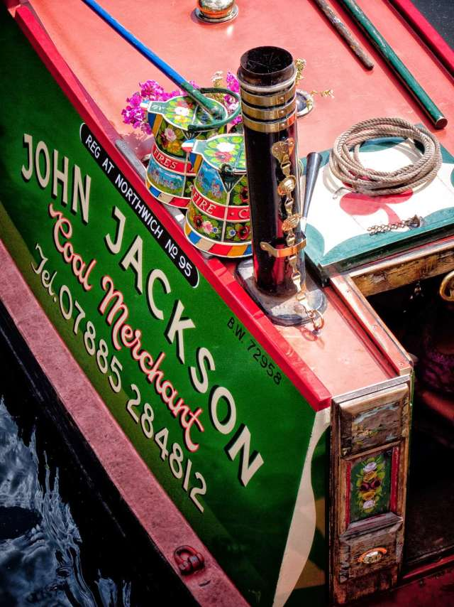 John Jackson 'Coal Merchant' was at the Kings Norton Festival