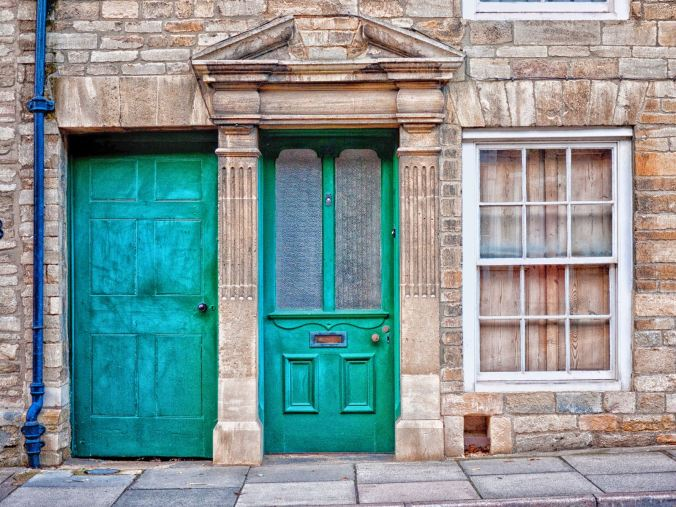 No shortage of interesting doorways to play with in Oundle!