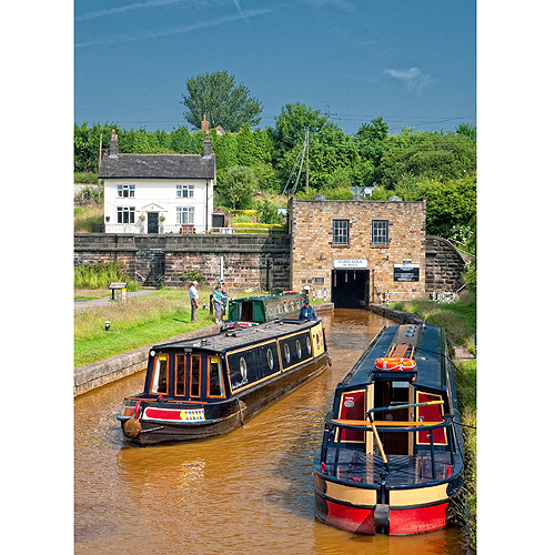 Trent & Mersey Canal - Harecastle Tunnel