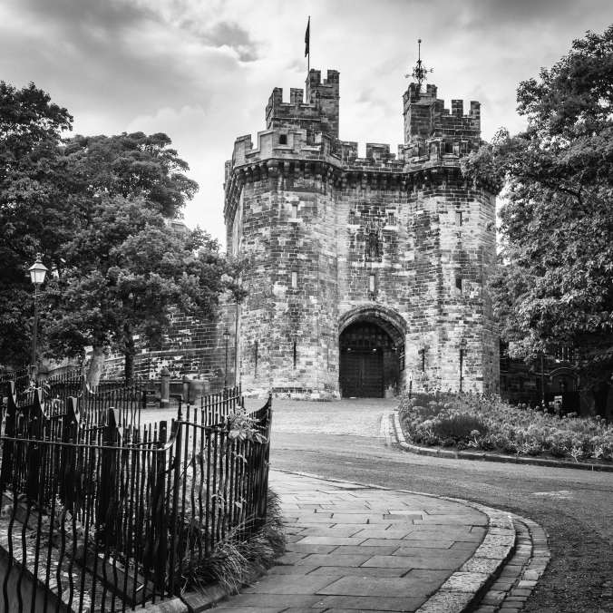 Lancaster Castle - by Barry Teutenberg