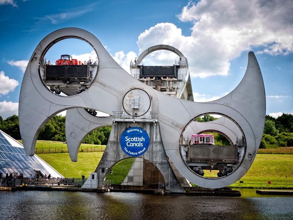 Falkirk Wheel Barry Teutenberg