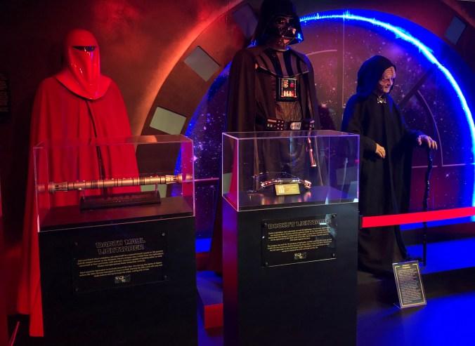 Star wars Memorabilia Spaceport
