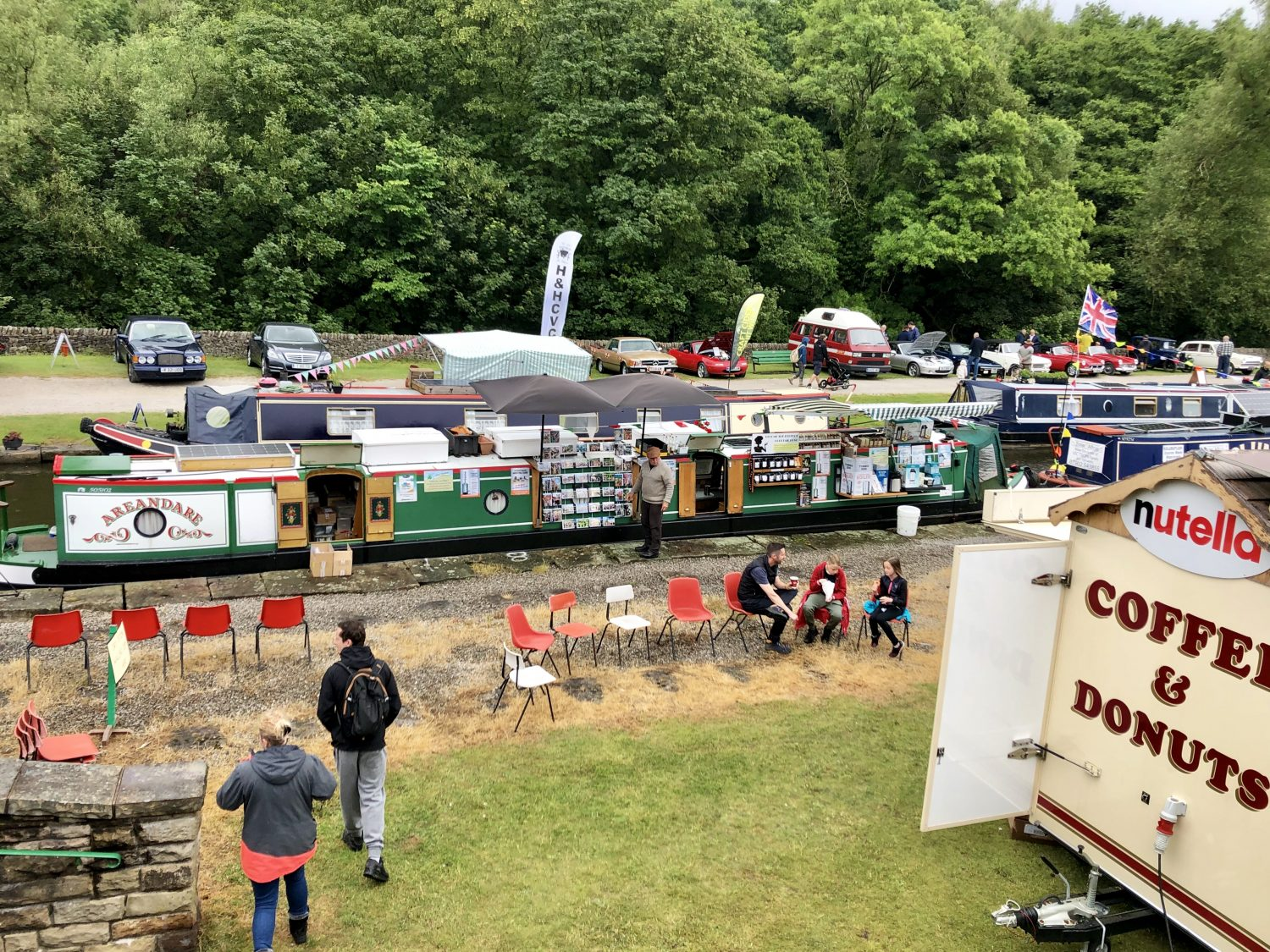 The Home Brew Boat at Bugsworth Family Fun Day 2019