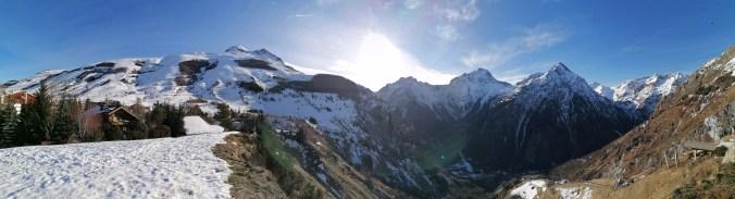 Venosc valley panorama