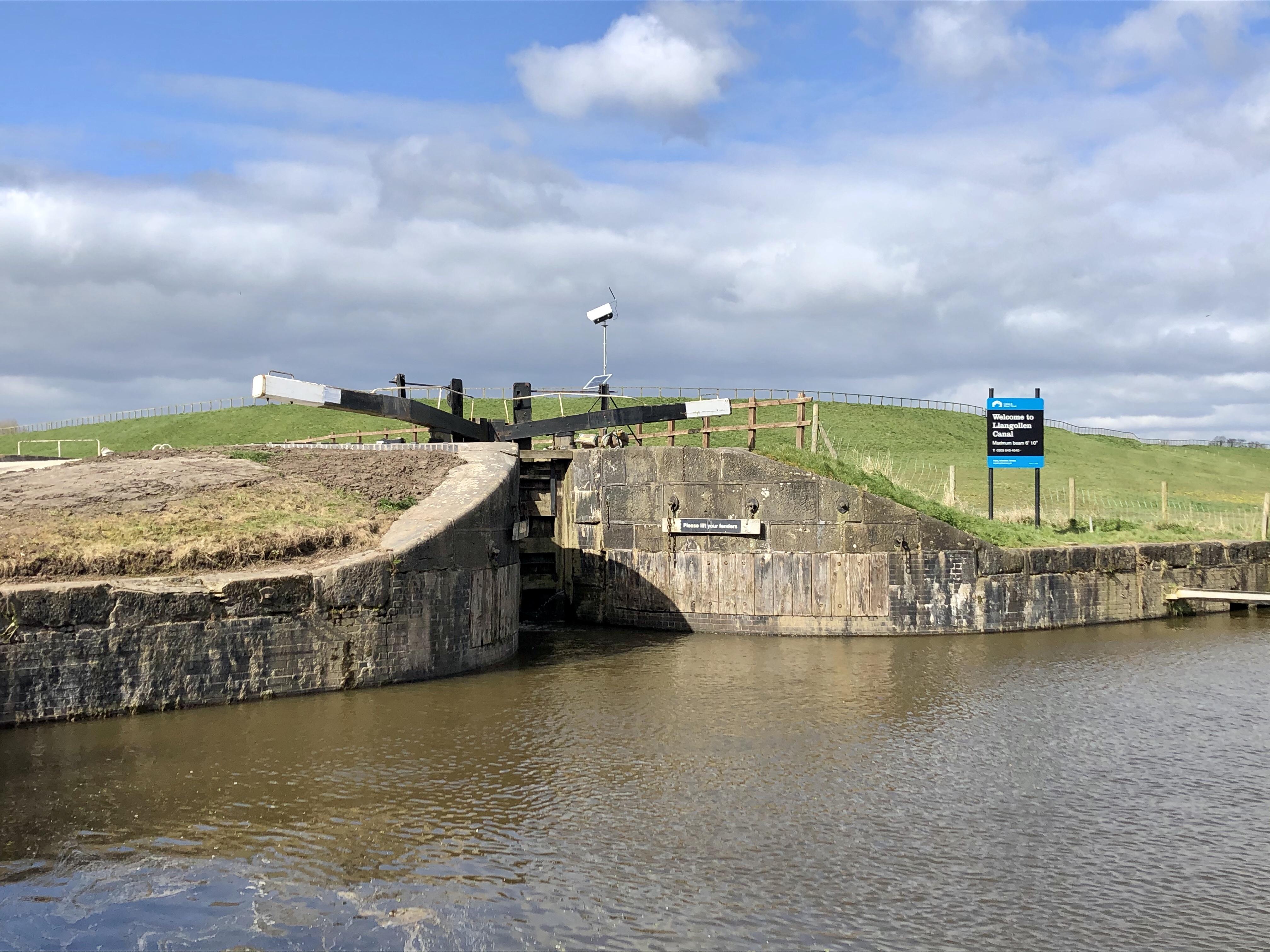 Hurleston Locks 29th March 2020
