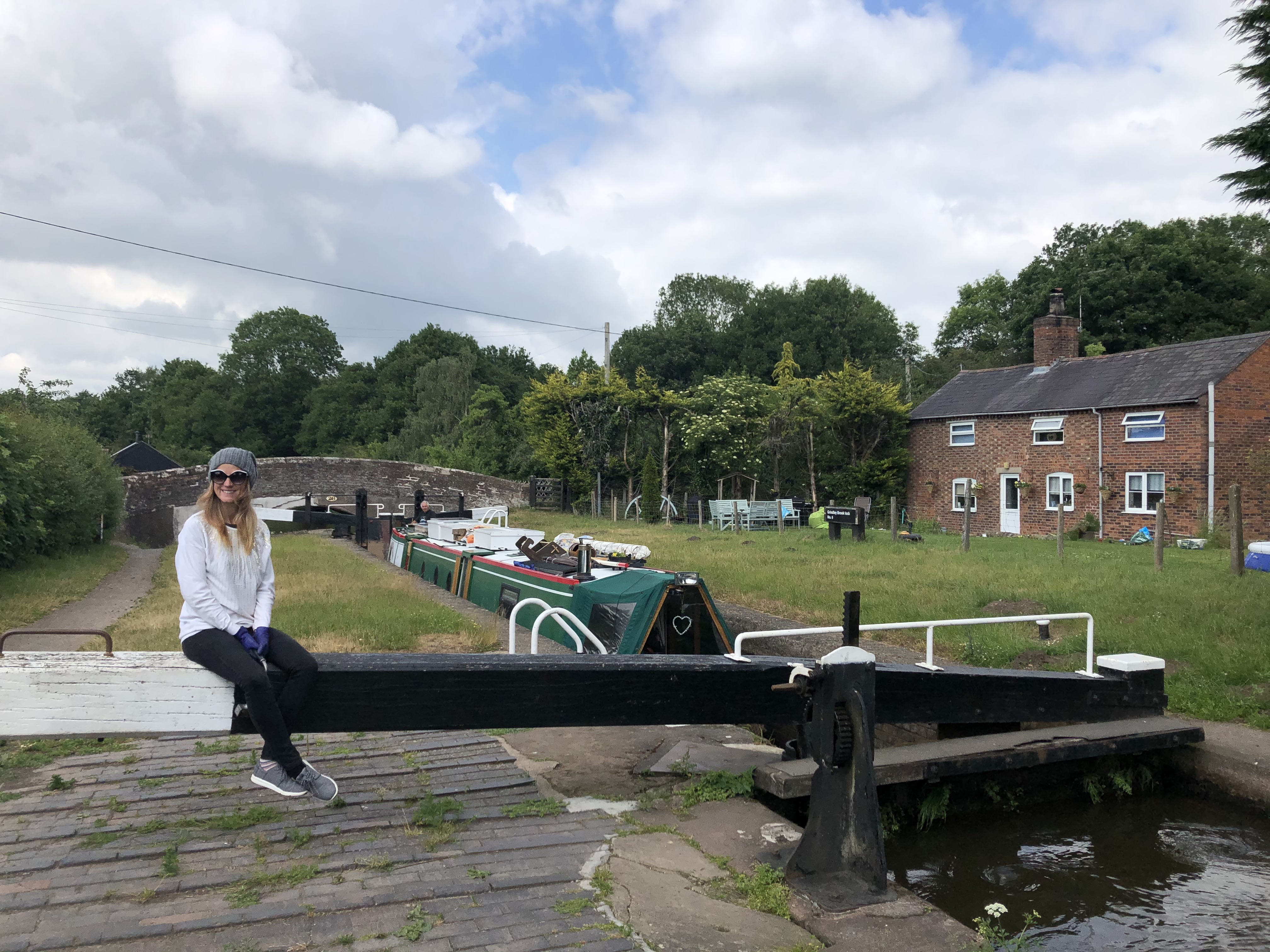 Grindley Brook Lock Flight June 2020