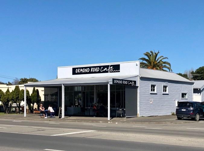 Ormond Road Cafe Gisborne September 2020