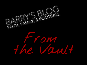 Barry's Blog: From the Vault